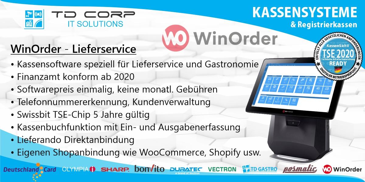 WinOrder - Der Alleskönner Liefersoftware