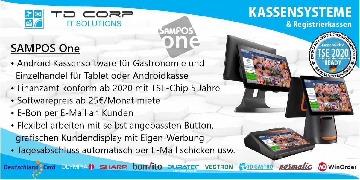 Sampos One - Das Android Kassensystem für all